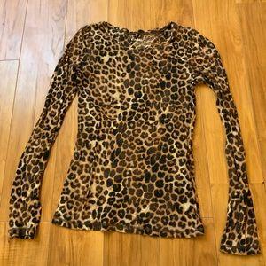 Express Leopard Shirt
